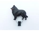 Bekleidung & AccessoiresHundesportwesten mit Hundemotiven inkl. Rückentasche MIL-TEC ®Hundeausstellungs-Startnummern-Clip: Belgischer Schäferhund Groenendael