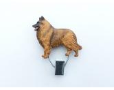 Bekleidung & AccessoiresHundesportwesten mit Hundemotiven inkl. Rückentasche MIL-TEC ®Hundeausstellungs-Startnummern-Clip: Belgischer Schäferhund Tervueren
