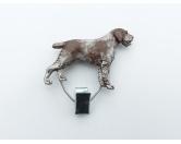 Taschen & RucksäckeCanvas Tasche HunderasseHundeausstellungs-Startnummern-Clip: Deutsch Drahthaar
