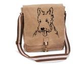 DuftbäumeHundemotiv DuftbäumeCanvas Messenger: Westie - West Highland Terrier 1