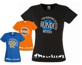 Fan-Shirts für HundefreundeHundefan T-Shirt: Hunde sind manchmal die besseren Menschen 2.0