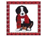 WeihnachtenPapier-Servietten: Hund - Noah Berner Sennenhund 20 Stck 33 x 33 cm