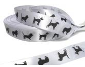 Geschenk-VerpackungenGeschenkband Satin: Hunde