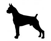 AusstellungszubehörHunderassen Ringclips vergoldetKreidetafel Hunderasse: Boxer 2
