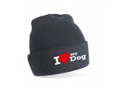 Caps, Hüte & MützenHundefreund-Strickmütze -I LOVE MY DOG- Limitierte Edition
