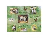WeihnachtenGeschenkpapier-Set: Best Friends -Jack Russel Terrier-