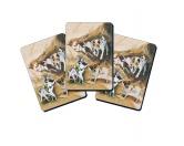 AusstellungszubehörHunderassen Ringclips vergoldetSpielkarten Set: Jack Russell Terrier