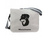 Bekleidung & AccessoiresHundesportwesten mit Hundemotiven inkl. Rückentasche MIL-TEC ®Baumwoll-Tasche: Beauceron 1