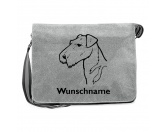 Bekleidung & AccessoiresHundesportwesten mit Hundemotiven inkl. Rückentasche MIL-TEC ®Baumwoll-Tasche:  Airedale Terrier 5