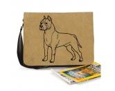 Bekleidung & AccessoiresHundesportwesten mit Hundemotiven inkl. Rückentasche MIL-TEC ®Baumwoll-Tasche:  American Staffordshire Terrier 3