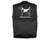 Aufkleber & TafelnBeagle 02 - Hundesportweste mit Rückentasche MIL-TEC ®
