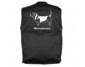 MarkenMil-Tec Hundesport Outdoor-Weste mit Dummytasche: Basset Hound 2