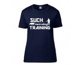 WohnenTierische FußmattenHundesport T-Shirt Damen -Mantrailing-
