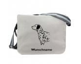 Für MenschenHunde Motiv Handtuch -watercolour-Baumwoll-Tasche:  Dalmatiner 1