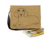 Socken mit TiermotivSocken mit HundemotivBaumwoll-Tasche:  Dackel, Dachshund 4