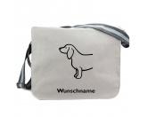 Bekleidung & AccessoiresHundesportwesten mit Hundemotiven inkl. Rückentasche MIL-TEC ®Baumwoll-Tasche:  Dackel, Dachshund 5