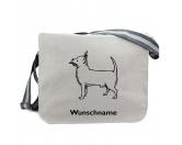 Bekleidung & AccessoiresHundesportwesten mit Hundemotiven inkl. Rückentasche MIL-TEC ®Baumwoll-Tasche:  Chihuahua 5