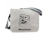 Schmuck & AccessoiresHunderassen Schmuck AnhängerBaumwoll-Tasche:  Bulldogge 7