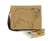 Schmuck & AccessoiresHunderassen Schmuck AnhängerBaumwoll-Tasche:  Bulldogge 6