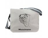 Leben & WohnenTürstopper & ZugluftstopperBaumwoll-Tasche:  Bulldogge 5