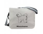 Socken mit TiermotivSocken mit HundemotivBaumwoll-Tasche:  Bichon Frise 1