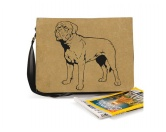Aufkleber & TafelnAufkleber - On-LeinBaumwoll-Tasche: Bordeaux Dogge 3