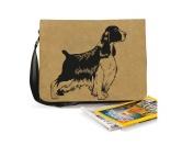 Bekleidung & AccessoiresHundesportwesten mit Hundemotiven inkl. Rückentasche MIL-TEC ®Baumwoll-Tasche: Englischer Springer Spaniel 2