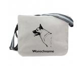 Bekleidung & AccessoiresHundesportwesten mit Hundemotiven inkl. Rückentasche MIL-TEC ®Baumwoll-Tasche: Deutscher Schäferhund 1