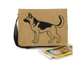 Bekleidung & AccessoiresHundesportwesten mit Hundemotiven inkl. Rückentasche MIL-TEC ®Baumwoll-Tasche: Deutscher Schäferhund 6