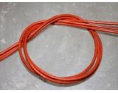 HundepfeifenHundepfeife Lederband -Orange-