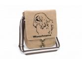 Bekleidung & AccessoiresHundesportwesten mit Hundesprüchen inkl. Rückentasche MIL-TEC ®Havaneser 2 Canvas Schultertasche Tasche mit Hundemotiv und Namen