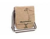 Warnwesten & SicherheitswestenWarnwesten mit Hunderasse MotivenRhodesian Ridgeback Canvas Schultertasche Tasche mit Hundemotiv und Namen