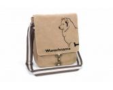 Bekleidung & AccessoiresHundesportwesten mit Hundemotiven inkl. Rückentasche MIL-TEC ®Samojede Canvas Schultertasche Tasche mit Hundemotiv und Namen