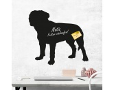 SchnäppchenKreidetafel Hunderasse: Bordeaux Dogge 1