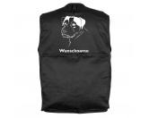 MarkenMil-Tec Hundesport Outdoor-Weste mit Dummytasche: Jack Russel Terrier