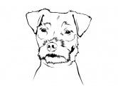 T-ShirtsHunderassen T-ShirtsWandtattoo - Jack Russell Terrier