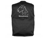 MarkenMil-Tec Hundesport Outdoor-Weste mit Dummytasche: Airedale Terrier