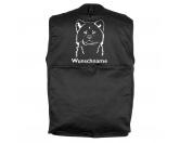 Selbstklebende KreidetafelnHundeAkita - Hundesportweste mit Rückentasche MIL-TEC ®