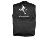 Taschen & RucksäckeCanvas Tasche HunderasseAustralian Cattle Dog - Hundesportweste mit Rückentasche MIL-TEC ®