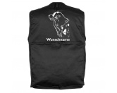 MarkenMil-Tec Hundesport Outdoor-Weste mit Dummytasche: Australian Shepherd
