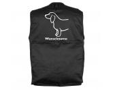 Bekleidung & AccessoiresHunderassen T-ShirtsMil-Tec Hundesport Outdoor-Weste mit Dummytasche: Dackel 3