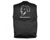 Aufkleber & TafelnGolden Retriever - Hundesportweste mit Rückentasche MIL-TEC ®