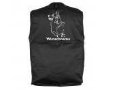 The Mountain FaceThe Mountain-Shirts HundeMil-Tec Hundesport Outdoor-Weste mit Dummytasche: Welsh Corgi