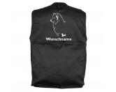 Bekleidung & AccessoiresHundesportwesten mit Hundemotiven inkl. Rückentasche MIL-TEC ®Samojede - Hundesportweste mit Rückentasche MIL-TEC ®