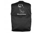 Leben & WohnenHundemotiv HandtücherStaffordshire Bullterrier - Hundesportweste mit Rückentasche MIL-TEC ®