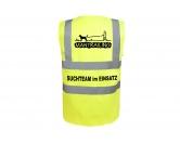 Bekleidung & AccessoiresWarnwesten & SicherheitswestenHundesport Warnweste Sicherheitsweste: Mantrailing 2