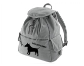 SchnäppchenCanvas Rucksack Hunderasse: Bullterrier
