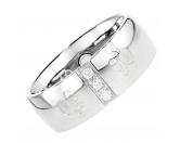 Für MenschenNostalgische GeschenkartikelEnergy and Life Magnetschmuck - Ring Pfötchen -Zirkonia- glänzend