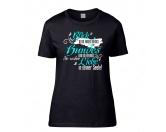 Schenken & ZubehörKleinigkeiten die Freude machenDamen T-Shirt: Spruch Hundeblick - LIMITIERTE EDITION