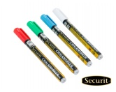 Aufkleber & TafelnKreidetafel: 1A Securit Tafelfolien Kreidemarker Kreidestift -Farbe-
